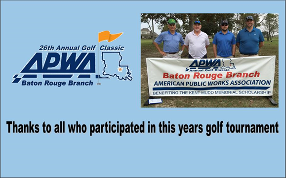 Thanks to all that participated in this years golf tournament.  Click here to see pictures from this years tournament.