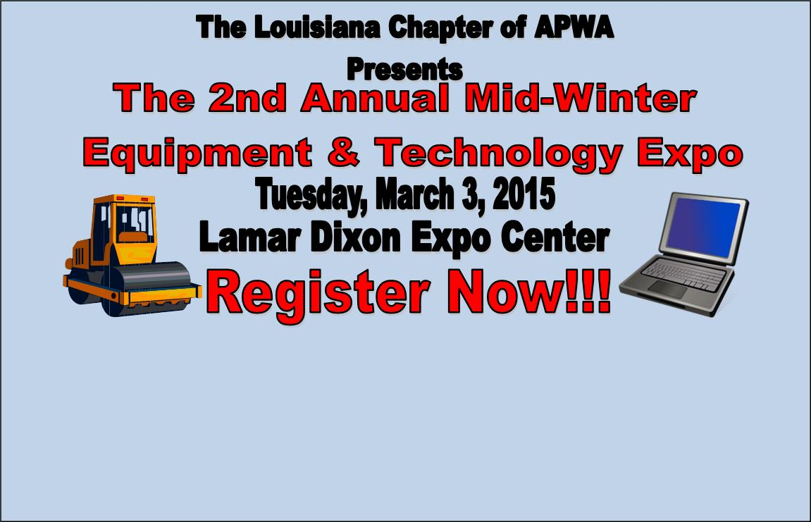 2nd Annual Mid-Winter Equipment and Technology Expo